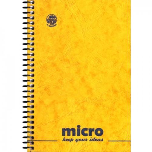 Μπλοκ σπιράλ Pressboard MICRO No4