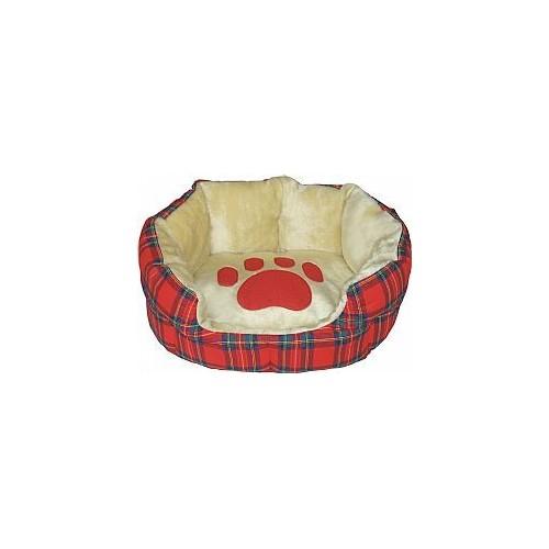 Kρεβάτι οβάλ Scottish Red πατούσα 70cm